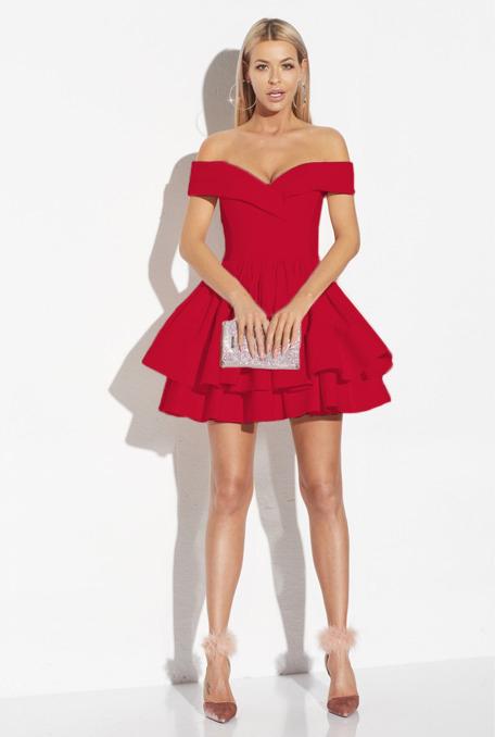 modele-rochii-rosii-scurte-elegante-de-ocazie