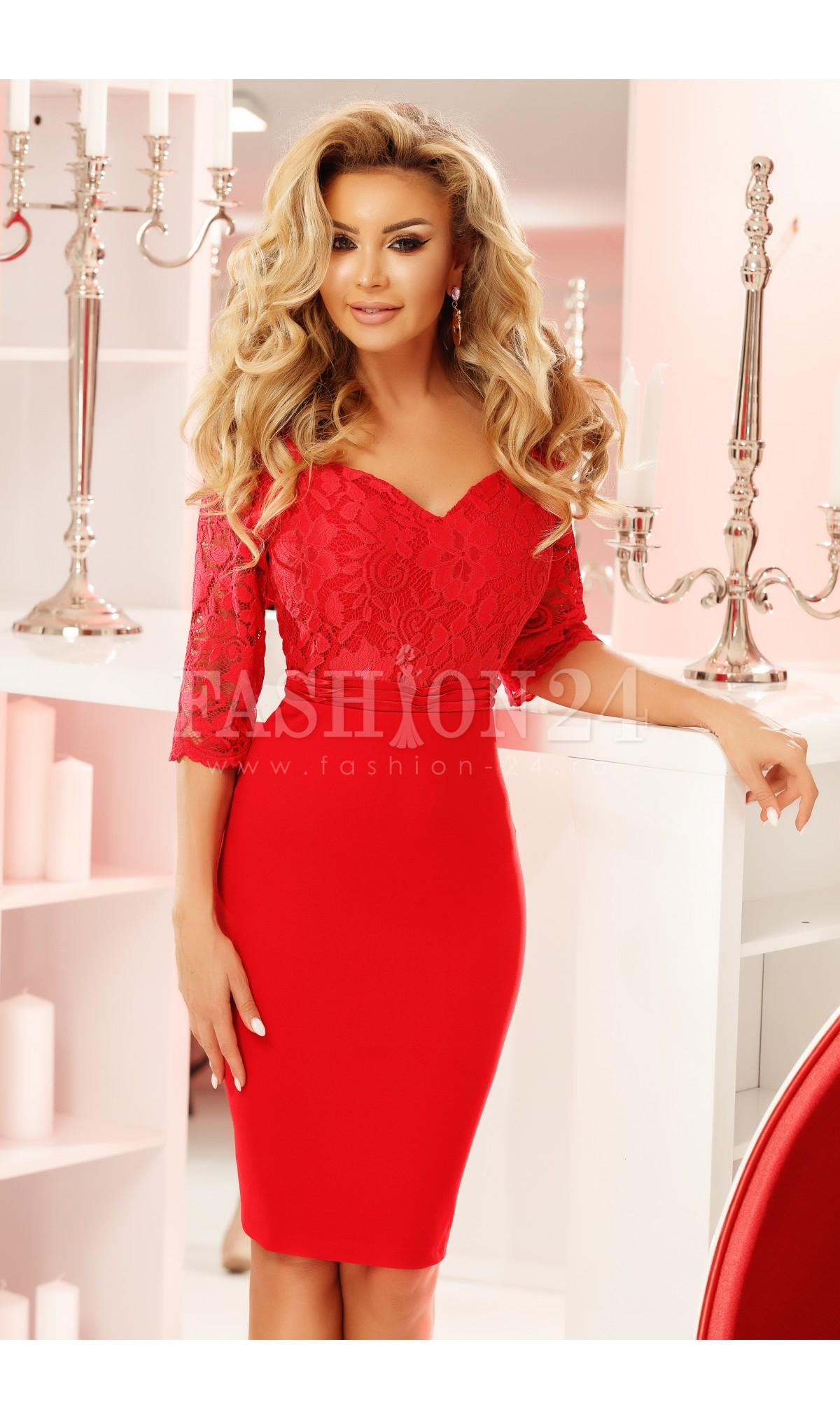 rochii-rosii-scurte-elegante-de-nunta