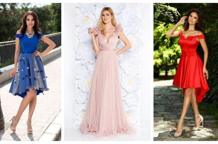 modele-rochii-domnisoare-de-onoare-lungi-scurte-roz-mov-galbene-albastre-2019-2020